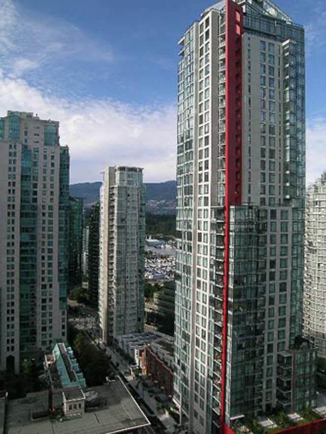 Downtown Vancouver Coal Harbour rental apartment in Orca Place