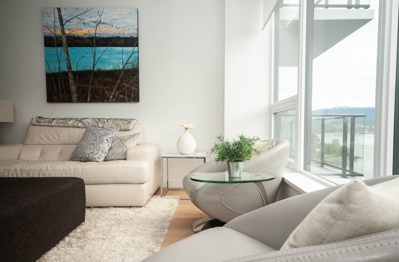 Vancouver Coal Harbour 3 Bedroom Apartment Furnished